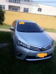 Título do anúncio: Toyota Corolla xei automático 2015 único dono