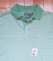 Camisa NOVA Polo Beagle Tamanho M