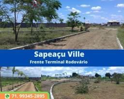 Título do anúncio: Oportunidade Loteamento Sapeaçu Ville, lotes 350 m², infraestrutura, escriturado