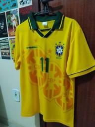 Camisa Seleção Brasileira 1994 - Tamanho M