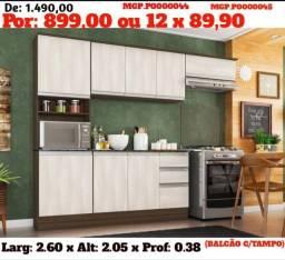 Selo de Confiança em MS- Cozinha Compactada c/ Balcão ou Armario de Cozinha