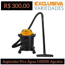Título do anúncio: Aspirador de Pó e Água Turbo 11L Agratto