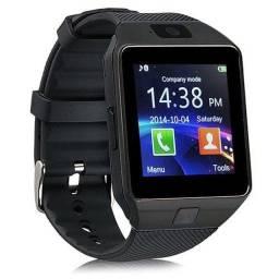 Smartwatch DZ09 Relógio Inteligente Slot Cartão de Memória