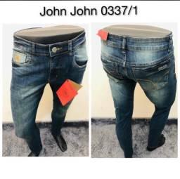 Calças jeans masculina da Armani, Jhon Jhon, Calvin Klein Imperdível