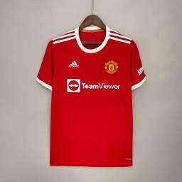 Título do anúncio: Camisas de times   Camisa titular 21/22 Manchester United