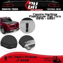 Capota  Flashcover Marítima Fiat Toro  2016 -2021