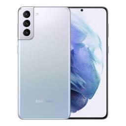 Samsung S21 Plus  256GB Prata - Novo, caixa lacrada, com garantia