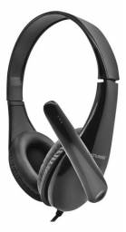 Fone de Ouvido Headset Business MultiLaser Original P2 com Microfone