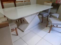Título do anúncio: Mesa 8 madeira e acabamento laka