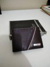 Vendo carteira couro fino