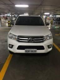 Hilux SRV 2.8 diesel 4x4 Aut 2018 entrada+parcelas - 2018
