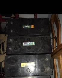 Vendo 4 baterias para som