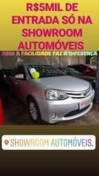 Toyota(ETIOS X 1.3 2014) SÓ NA SHOWROOM AUTOMÓVEIS - 2014