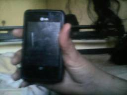 Celular android e celular LG toque screen