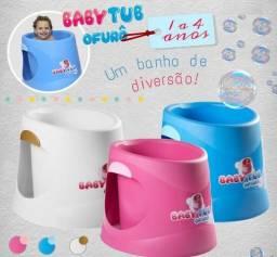 Banheira Pra Bebê Terapêutica Ofurô 12-48 Meses Babytub - Frete Gratis