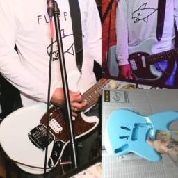 Guitarra Fender Squier Mustang Sonic Blue Custom(R$2700)