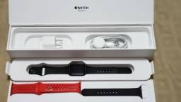 Apple Watch Serie 3 Gps 38mm NF e Garantia Maio 2019 A Prova de Agua Completo Parcelo