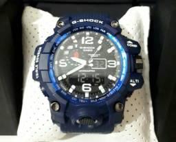 e76998c8b72 Relógio G-SHOCK Azul á prova d água 100% Funcional