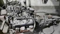 Motor completo e cambio V6 4.3 manual Hot Rod 6 cilindros Blazer S10 não motor V8