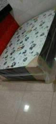 Cama box acoplada union ortobom D28 De Casal