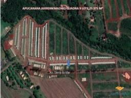 Terreno à venda em Não informado, Apucarana cod:1110006827
