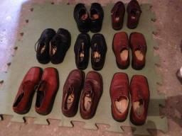 Sapatos Masculino Couro 39-40