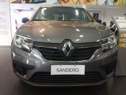 Novo Sandero Life 1.0 0KM - 2020