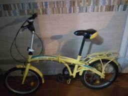 Bicicleta desmontável