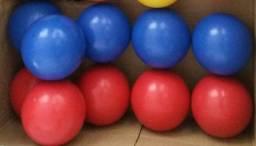 Bolas - Jogo Snooker - Vermelhas e Azuis