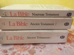 Bíblia em Francês- Edição rara de bolso