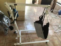 Guincho de Transferencia 150kg acamados cadeirantes