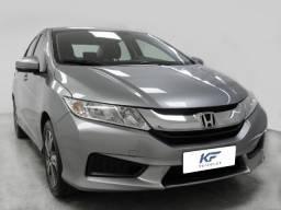 Honda City 1.5 LX Cinza 2015 Automático Completo