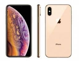 Iphone XS Dourado 64GB - Acompanha case de silicone película + acessórios
