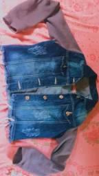 Jaqueta jeans semi nova