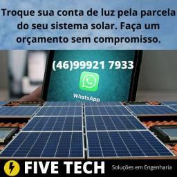 Energia solar e soluções em Engenharia