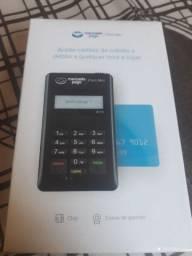 Maquina de cartão de crédito e débito
