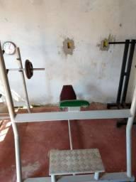 Máquinas de academia e ginástica adução abducao supinos