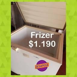 Frizzer e geladeira