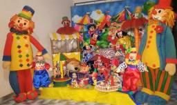 Circo - Decoração/cenário para festas