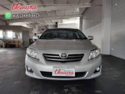 Toyota/ Corolla XEI 1.8 - Prata - 2008/2009 - Flex