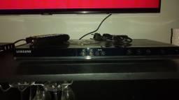 DVD SAMSUNG com controle remoto