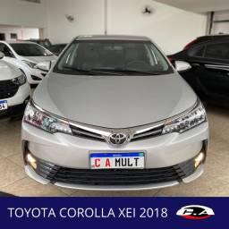 Toyota Corolla XEI 2018 Baixo km Aceito trocas e Financio