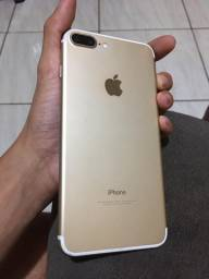 Iphone 7plus 32g sem marcas de uso