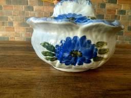 Vendo sopeira antiga cerâmica 45,00