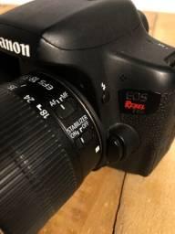 Câmera Canon T6I (BARBADA)