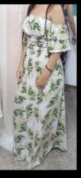 Vestido usado 1 vez lindo