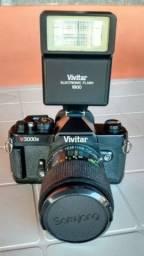Câmera Vivitar v3000s usada