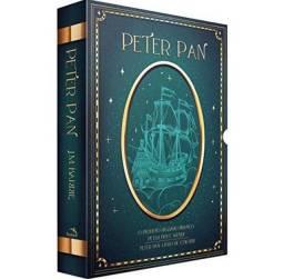 Box Peter Pan - 3 livros mais livro para colorir e marcadores de páginas