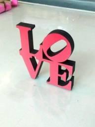 Título do anúncio: Love - objeto decoração