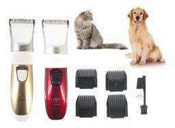 Kit Maquina Tosa Sem Fio - Seu Pet Merece Este Cuidado